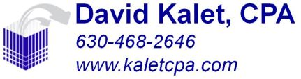 David Kalet CPA race to flag logo